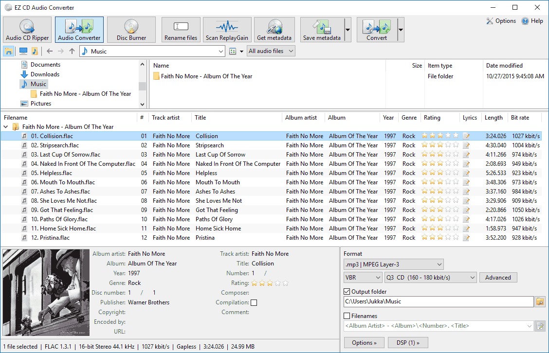 EZ CD Audio Converter latest version