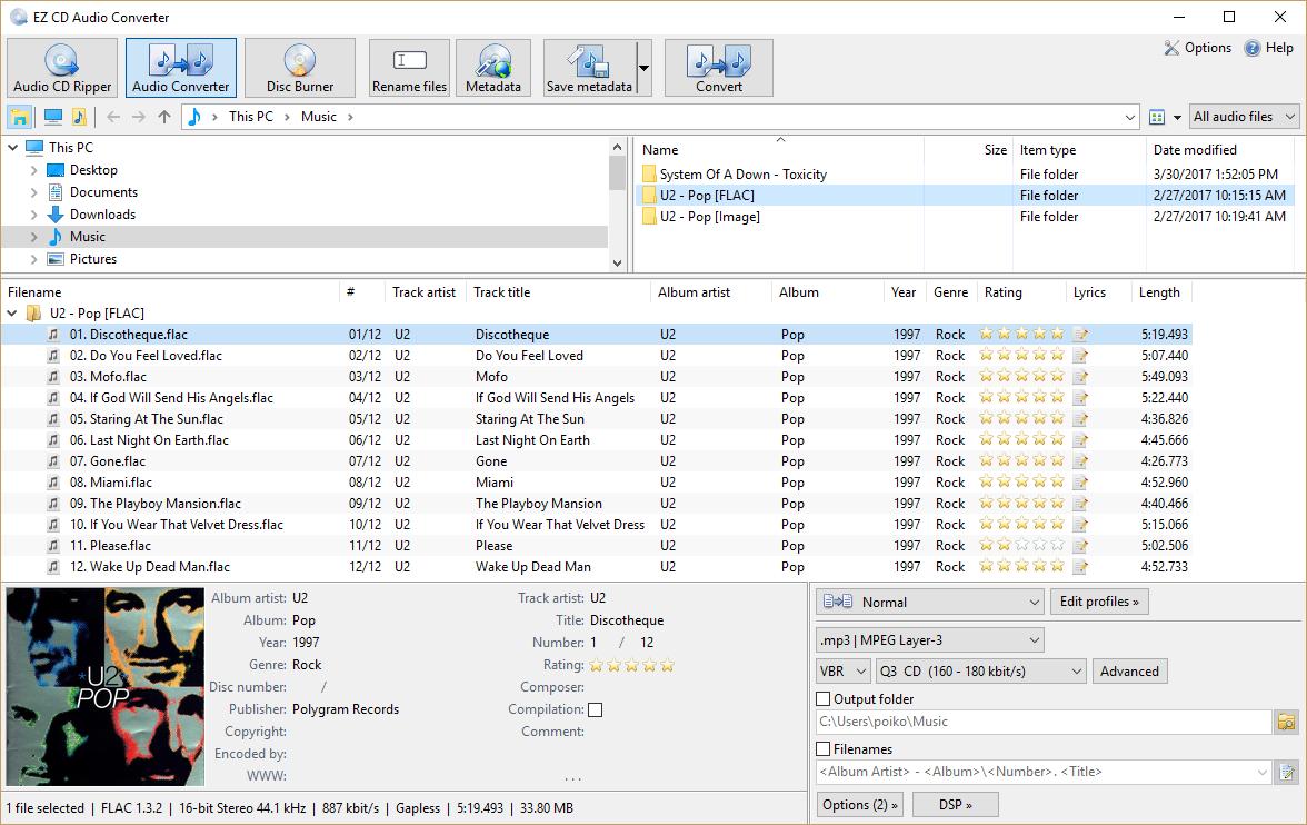 EZ CD Audio Converter windows
