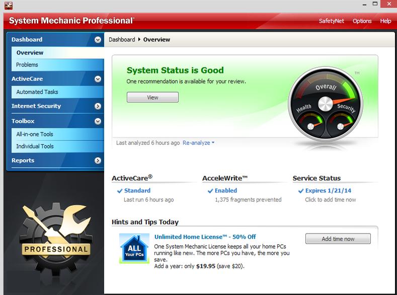 System Mechanic Pro latest version