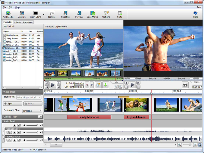 VSDC Video Editor Pro windows