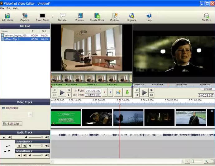 VideoPad Video Editor latest version