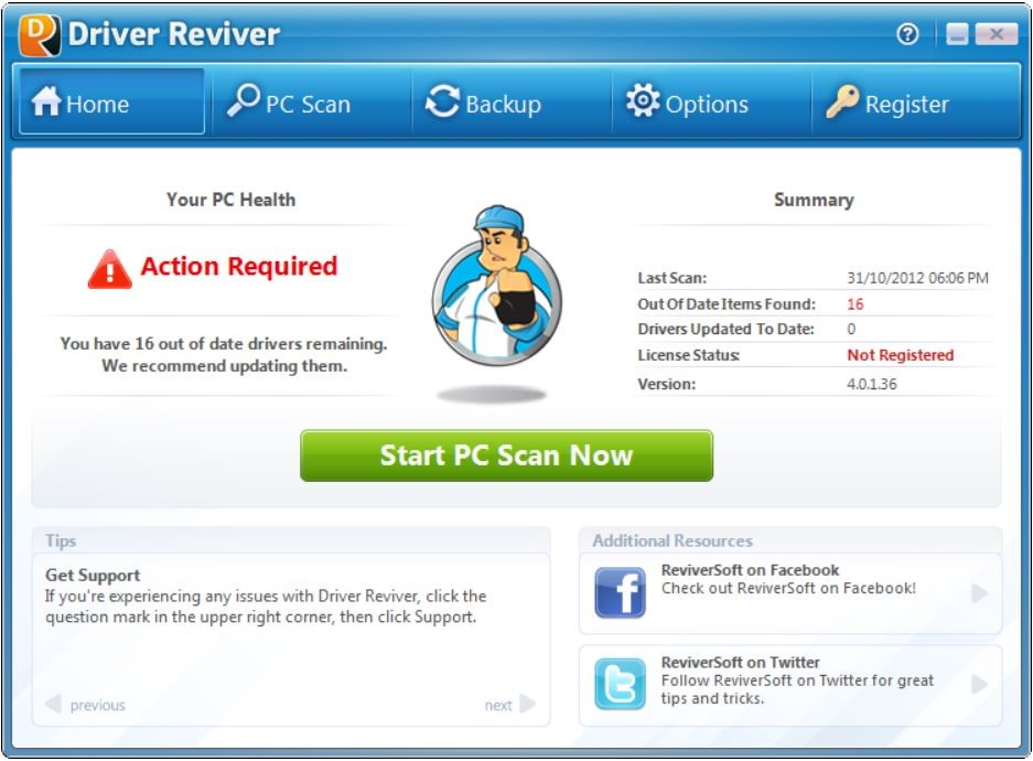 Driver Reviver latest version