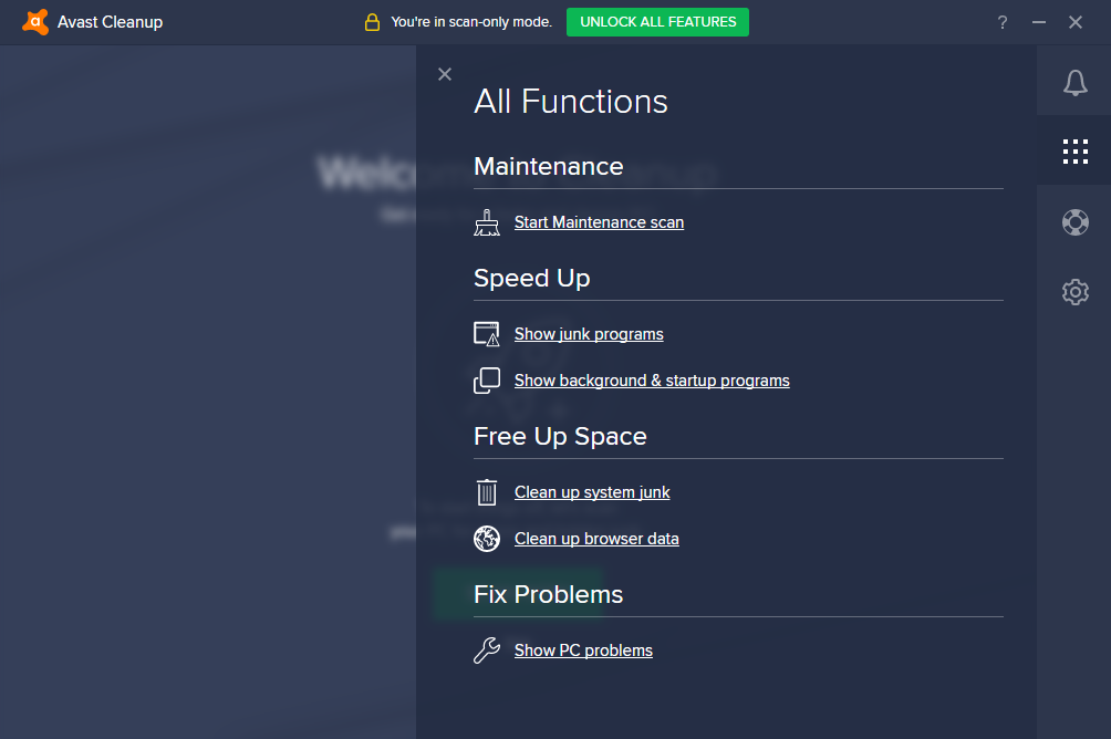 Avast Cleanup latest version