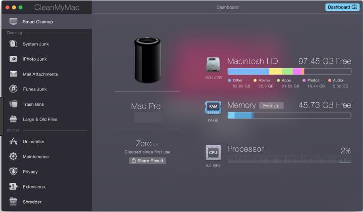 CleanMyMac latest version