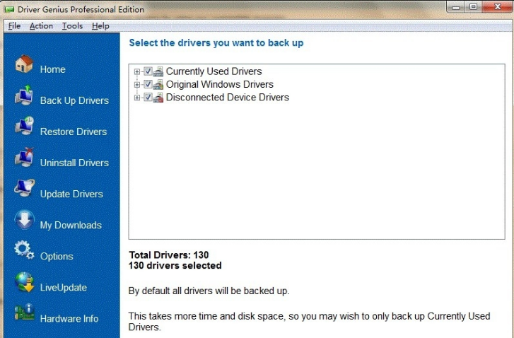 Driver Genius Professional windows
