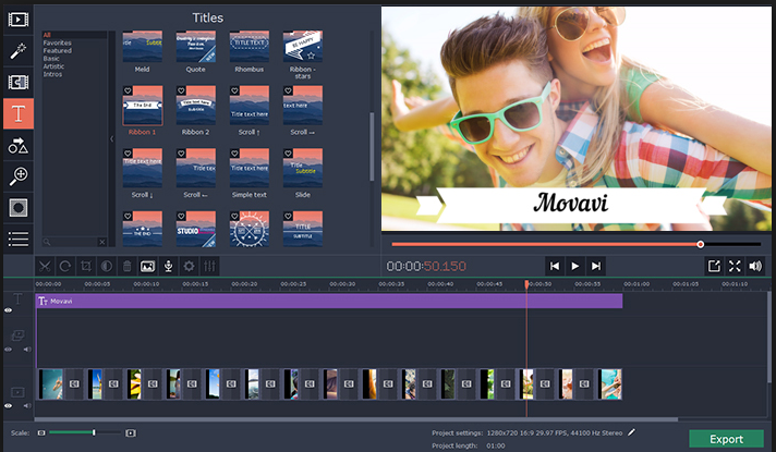 Movavi Video Editor latest version
