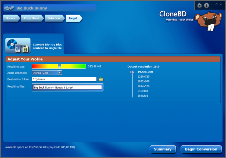 CloneBD latest version