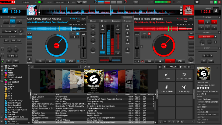 Virtual DJ Pro latest version