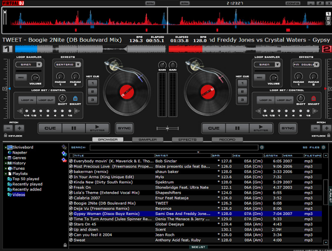Virtual DJ Pro windows