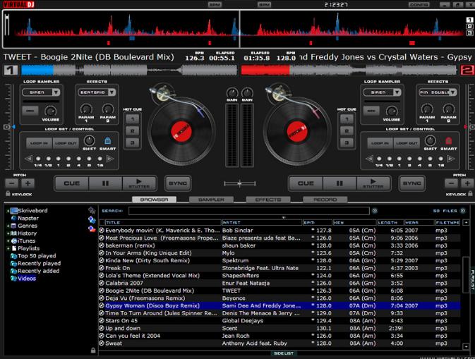 Virtual DJ Pro windows