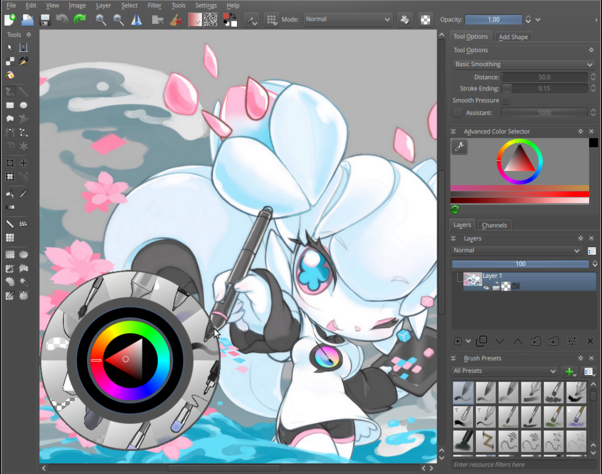 Krita windows