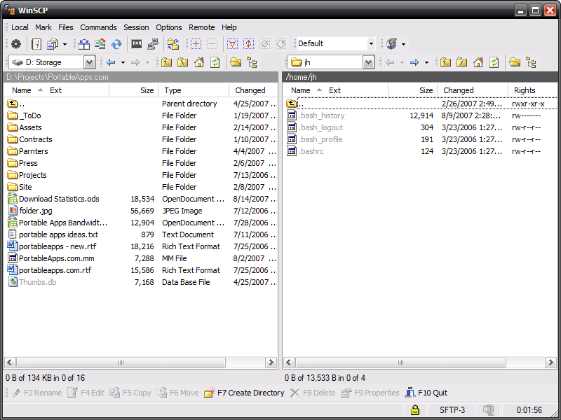 WinSCP latest version