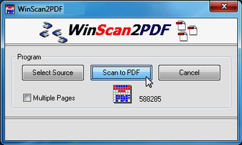 WinScan2PDF latest version