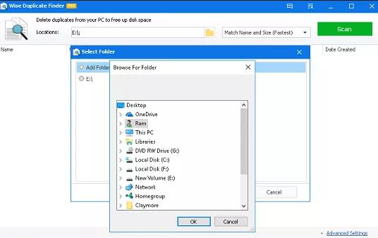 Wise Duplicate Finder Pro windows