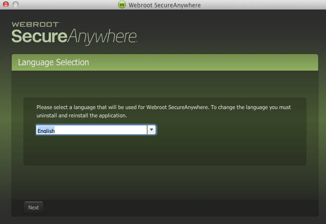 Webroot SecureAnywhere latest version