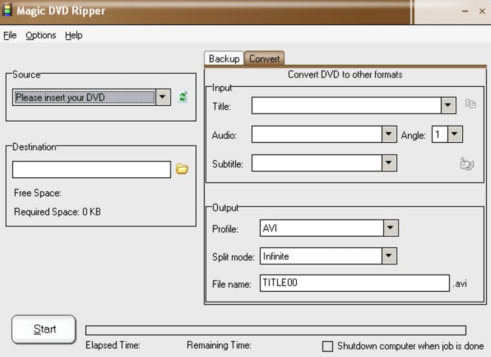 Magic DVD Ripper latest version