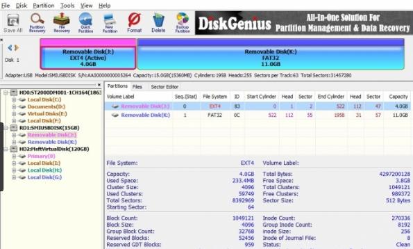 DiskGenius Professional latest version