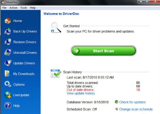 DriverDoc latest version
