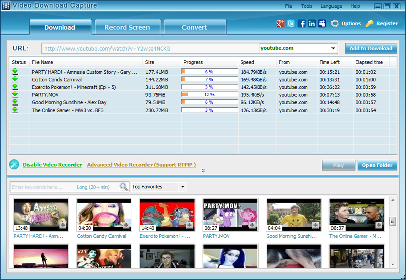 Video Download Capture latest version