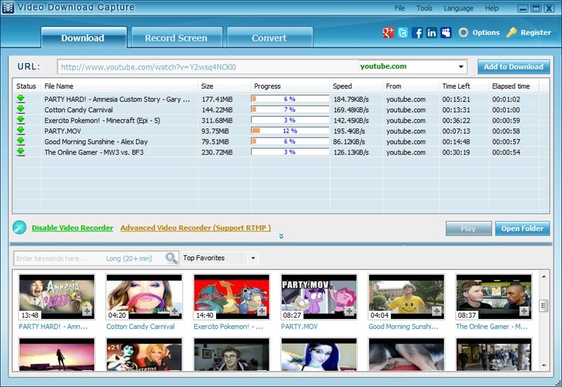 Video Download Capture latest version
