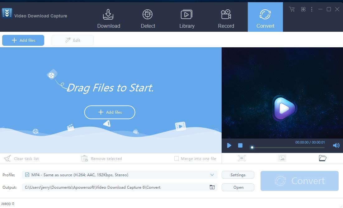 Video Download Capture windows