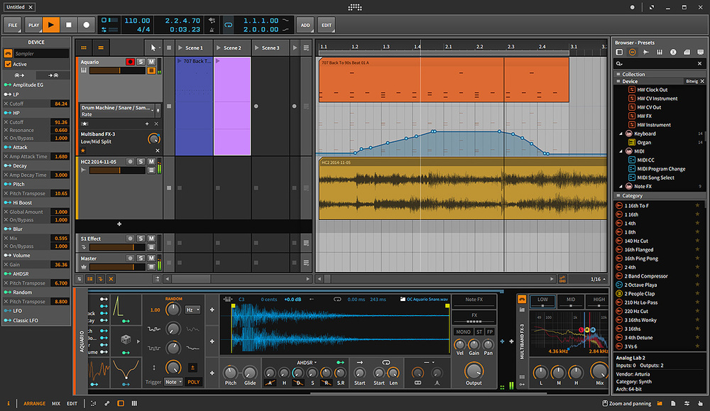 Bitwig Studio windows