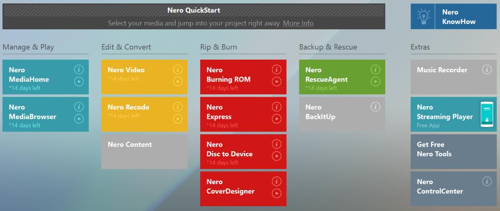 Nero Platinum latest version