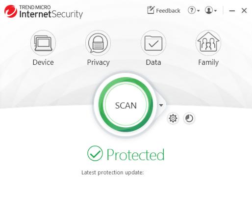 Trend Micro Internet Security windows