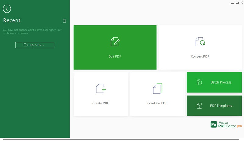 iSkysoft PDF Editor Pro latest version