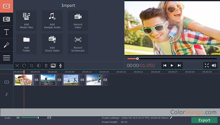 Movavi Screen Capture Studio latest version