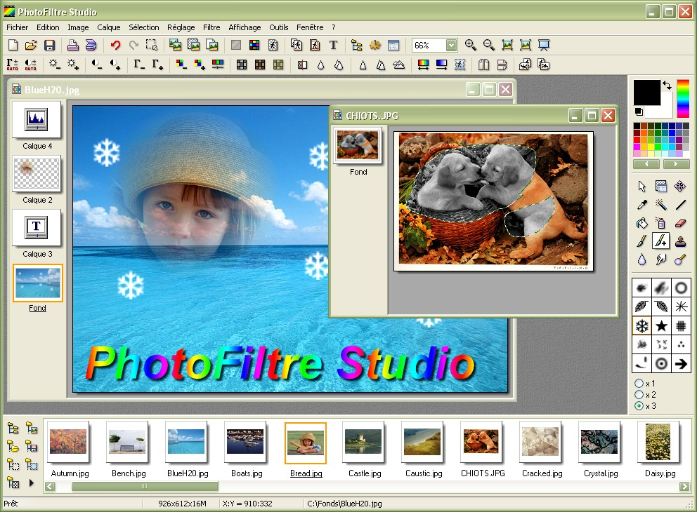 PhotoFiltre Studio X latest version