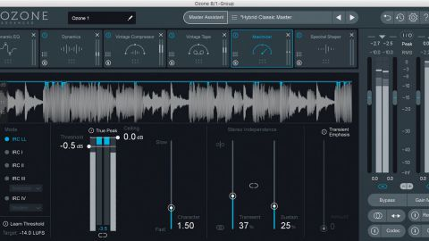iZotope Ozone Advanced latest version