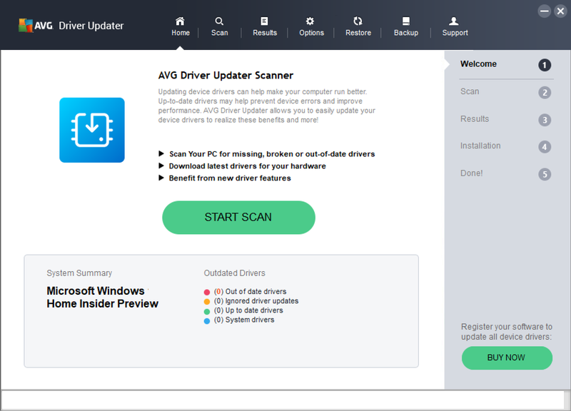 AVG Driver Updater windows