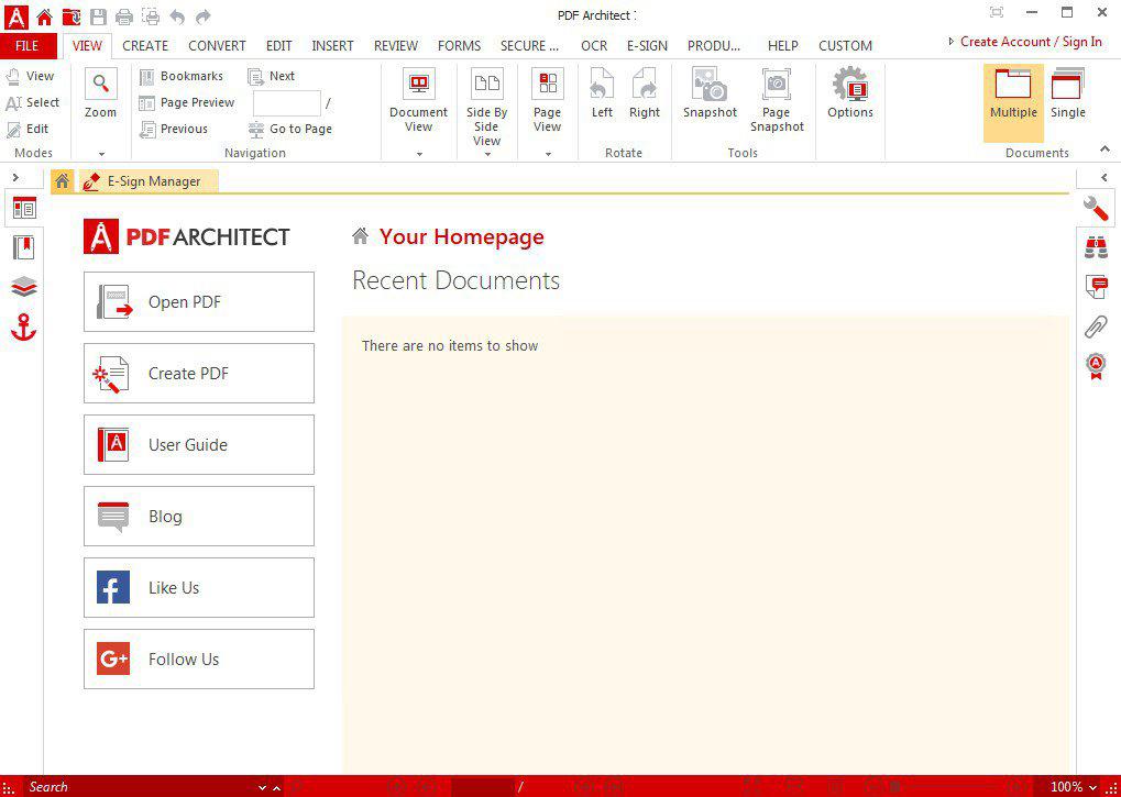 PDF Architect windows