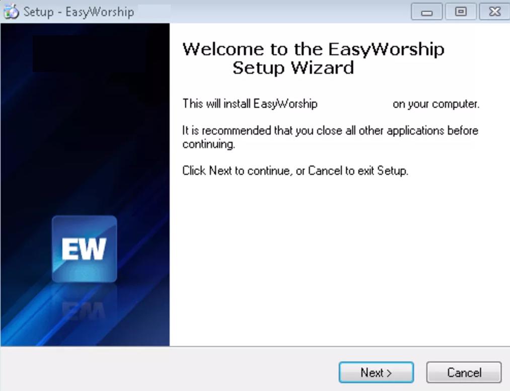 EasyWorship windows