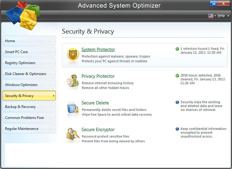 Advanced System Optimizer latest version