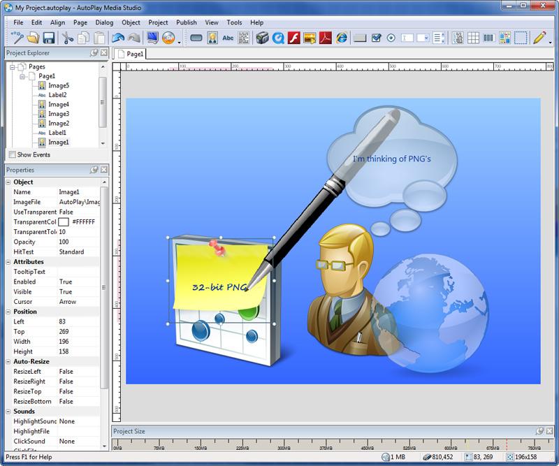 AutoPlay Media Studio windows