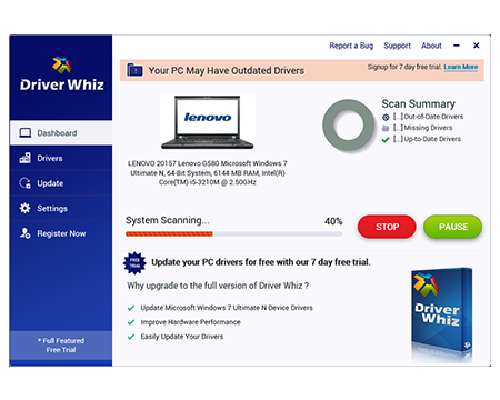 Driver Whiz windows