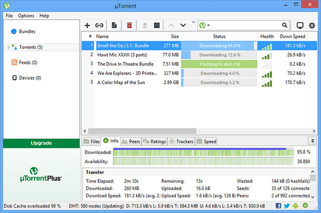 uTorrent Pro latest version