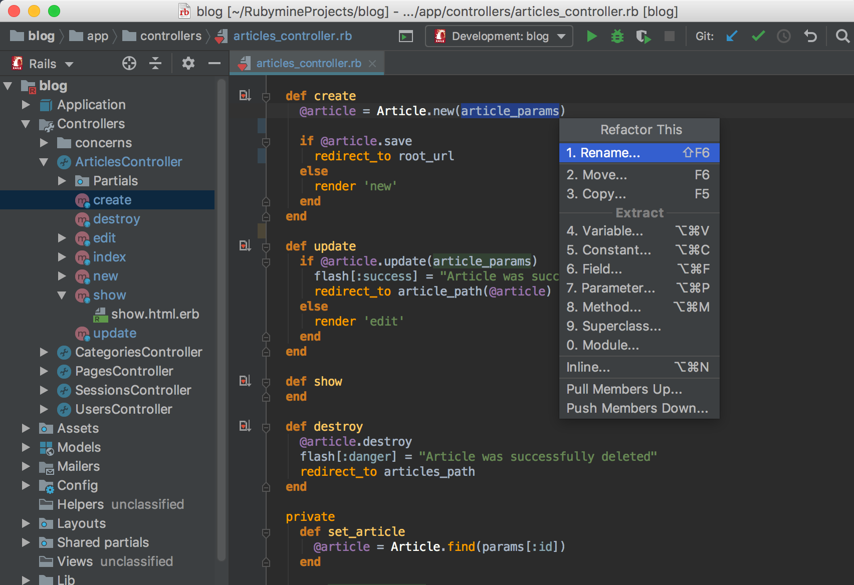 Jetbrains RubyMine latest version