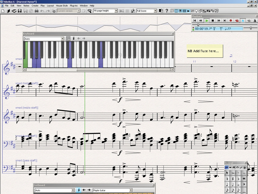 Avid Sibelius latest version