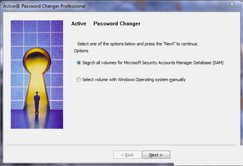 Active Password Changer latest version