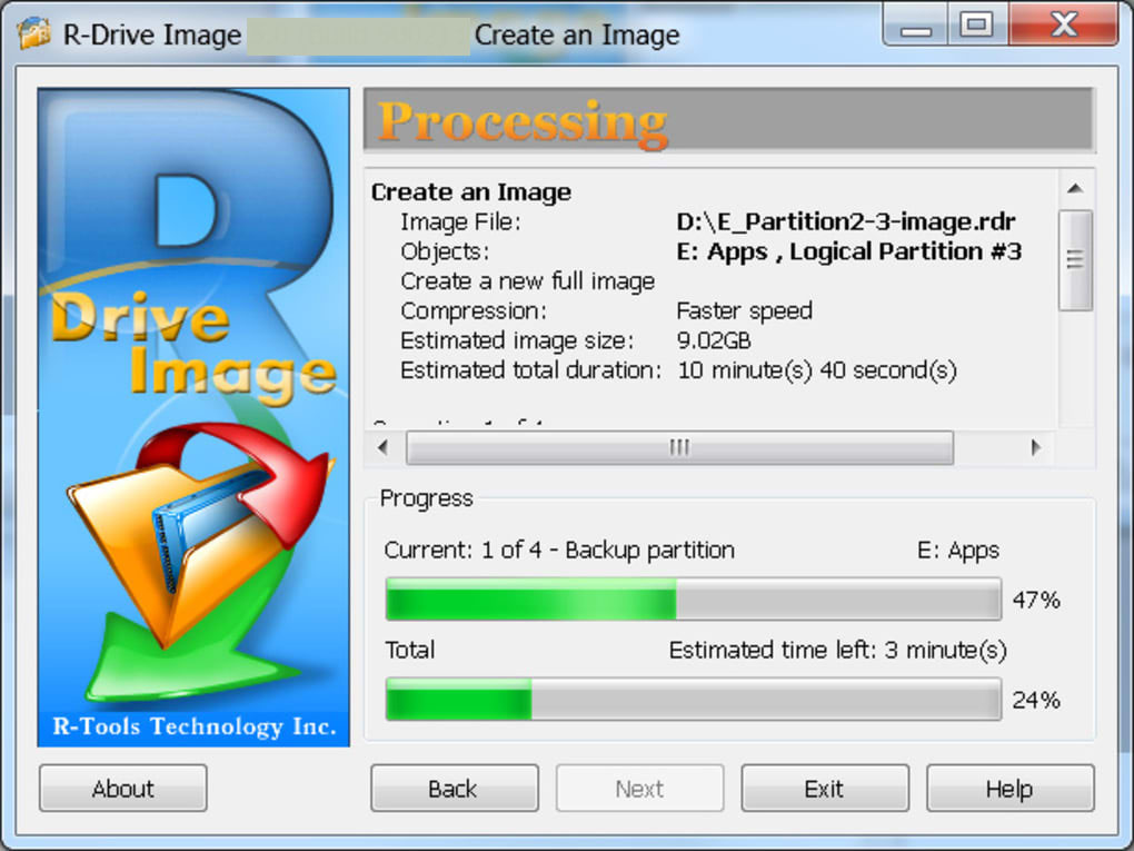 R-Drive Image latest version