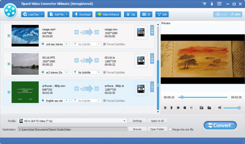 Tipard Video Converter Ultimate windows