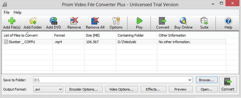 Prism Video File Converter latet version
